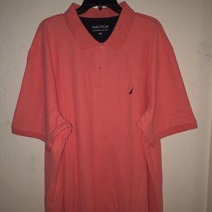 Nautica Pink Polo Shirt